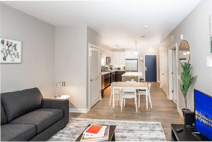 Kasa | Atlanta | Stylish 1BD/1BA Apartment in Midtown