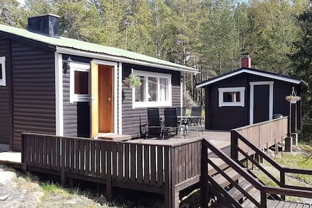 Lillebo  - A cozy cabin with big terrace & sauna