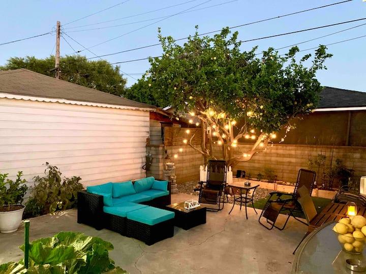 Private 420-Friendly Studio+Backyard Movie Theater