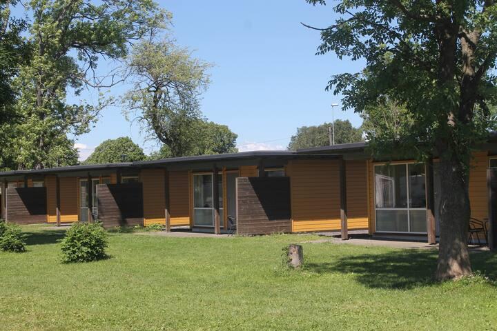 Moderne hytter - Sentral beliggenhet ved Gamlebyen