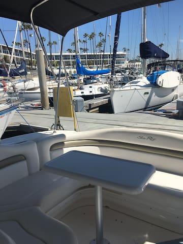 Vacation on a boat in Marina del Rey - Marina del Rey - Bateau