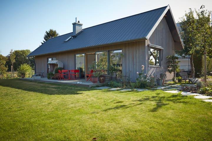 Beautiful scandi house close to the Baltic Sea