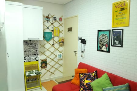 Cozy Loft near Paulista Avenue and Downtown