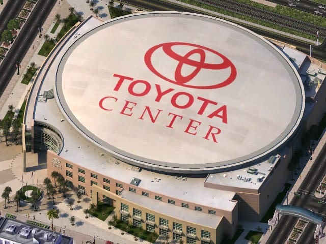 Toyota Center - Home of the Rockets!