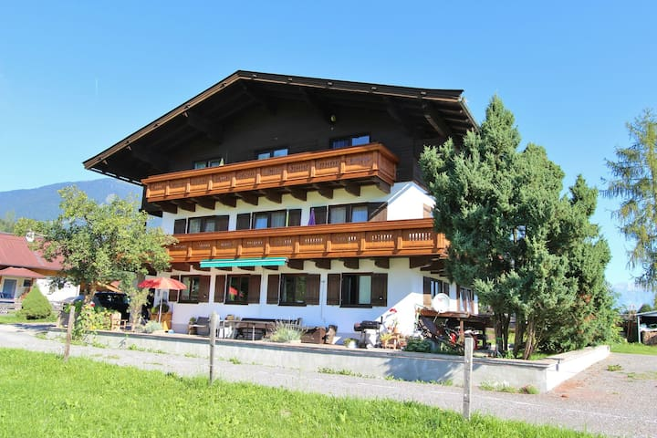 Spacious Apartment near Ski Trail in Maishofen