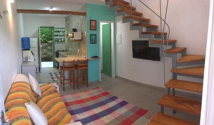 Flat 02 do Jal - Natureza +Tv+Wifi