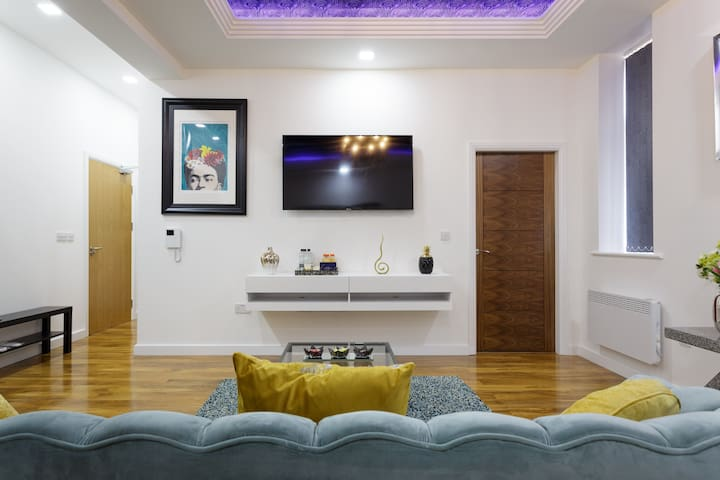 A Super Luxury 1 Bedroom 1 Bath City Centre Apt
