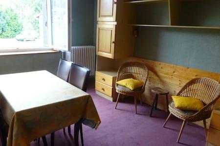 """Meublé """"maeli"""" coeur du Haut Jura - Morbier - Apartamento"""