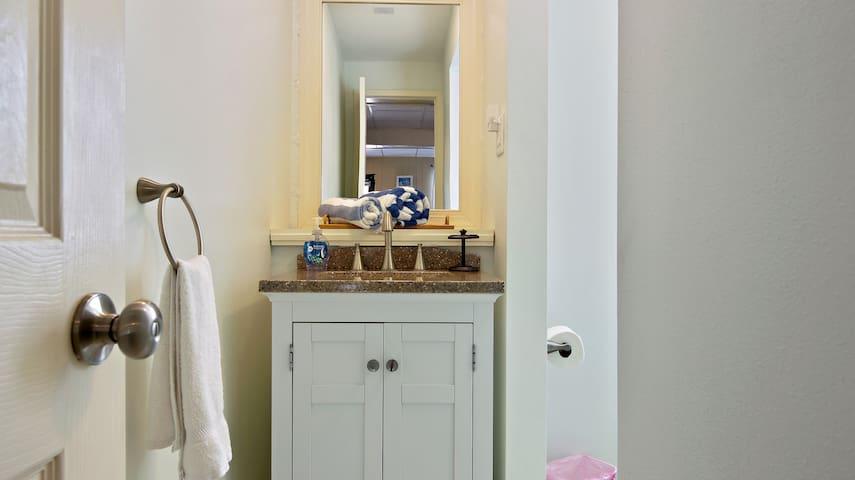 Totally remodeled Bathroom!