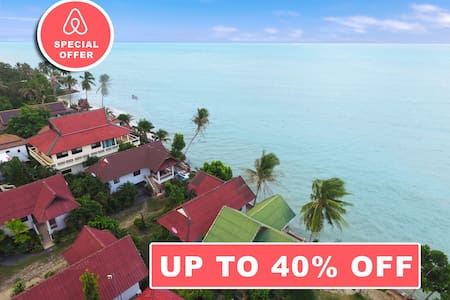 Baan Manao Tropical House 20 meters from the Sea