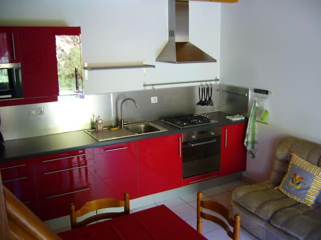 Duplex au calme sur domaine viticole - Saint-Romain - Apartament