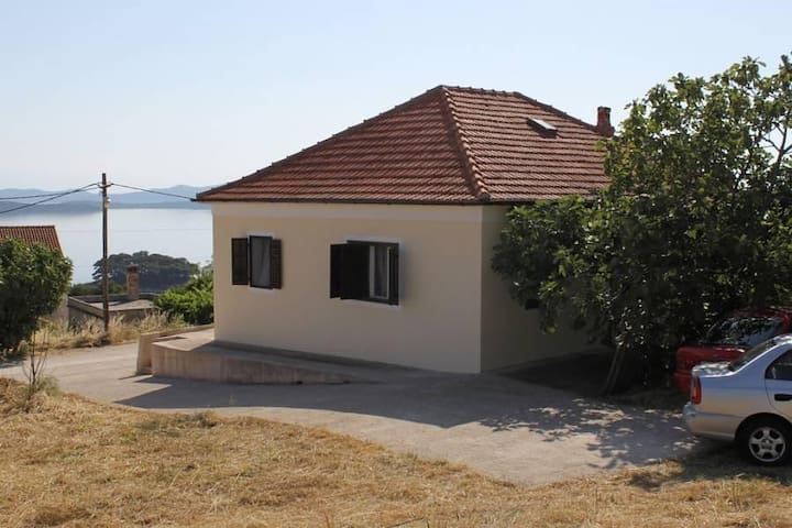 Two bedroom apartment with terrace and sea view Savar, Dugi otok (A-8127-a) - Savar - Apartment