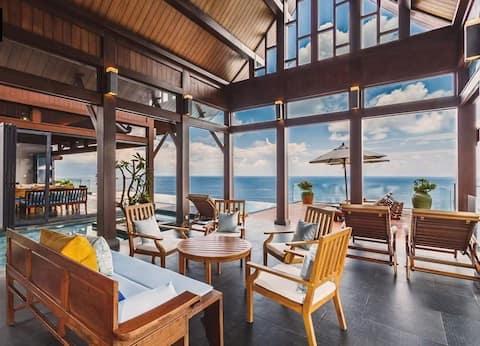 Rare invincible seaview house in Phuket