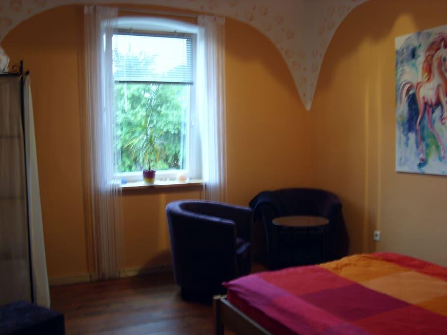 privates Schlafzimmer