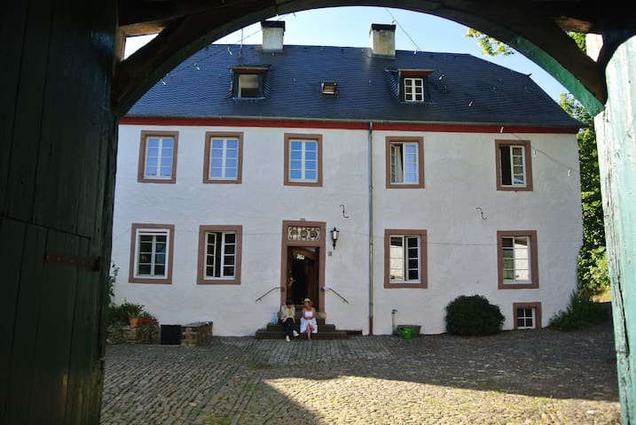 200 years old Mansion House in the Eifel
