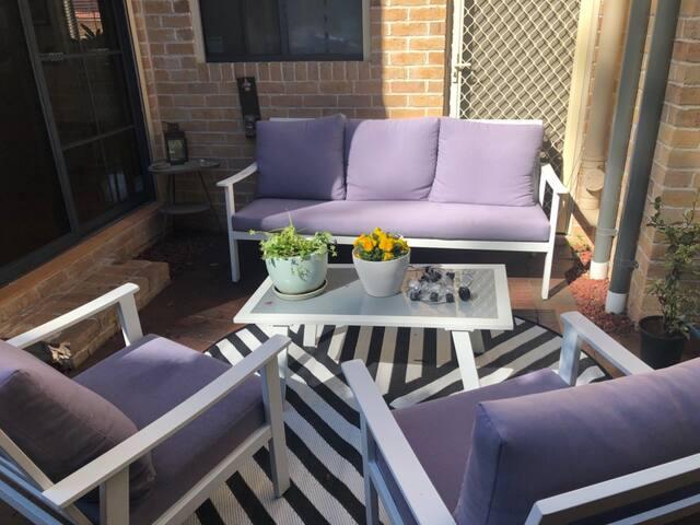 Backyard suntrap