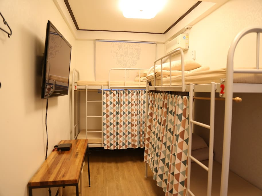 4 female dormitory room