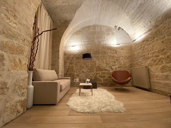 Loft design dans un hotel particulier