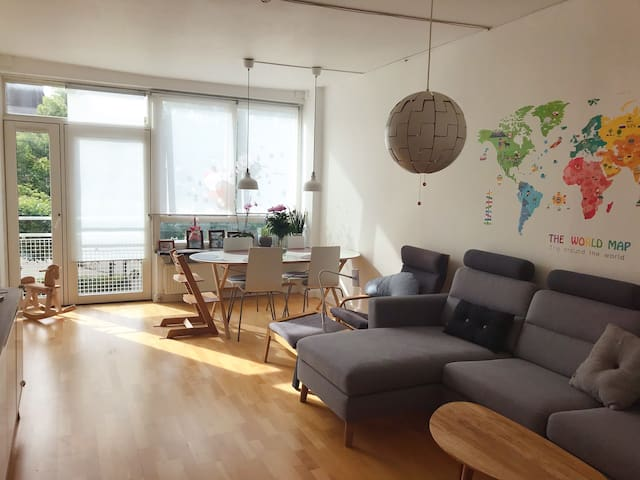Nice apartment very close to Lyngby station