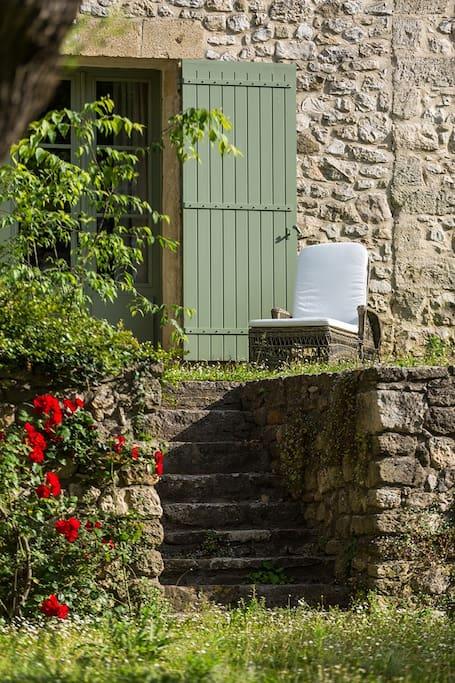 Première terrasse privative