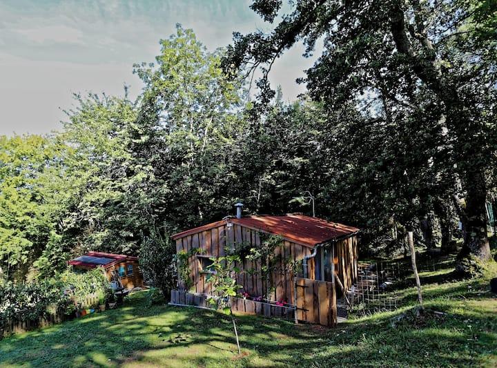 Les Cabanes d'Orvé - La Cabane Solaire