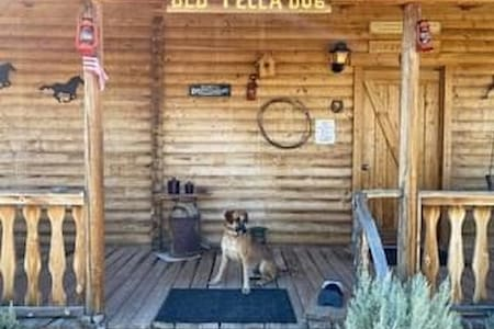 Old yella dog ranch guest house.