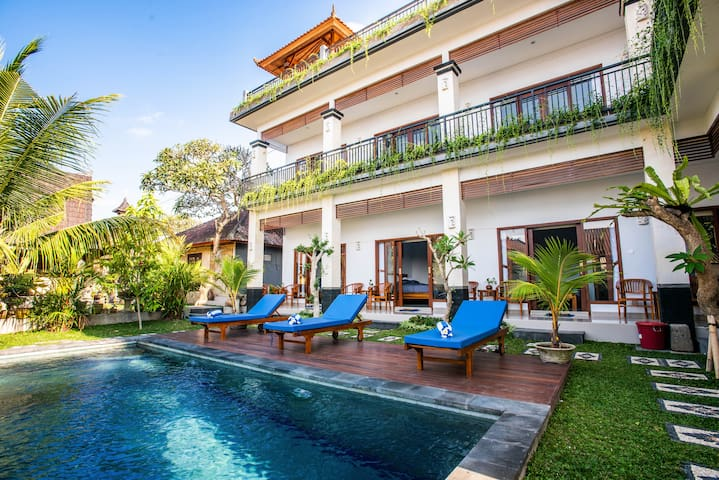 Le Saint Bali-Canggu: affordable room&big pool(10)