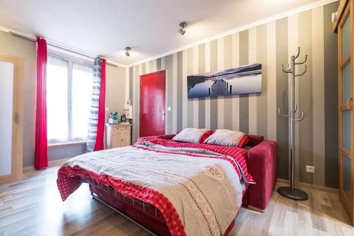 Studio de charme - proche Chantilly - Saint-Leu-d'Esserent - Apartment