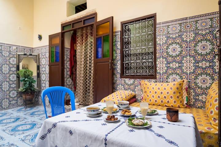 Dar Masrour Chambre Alia chez l'habitant
