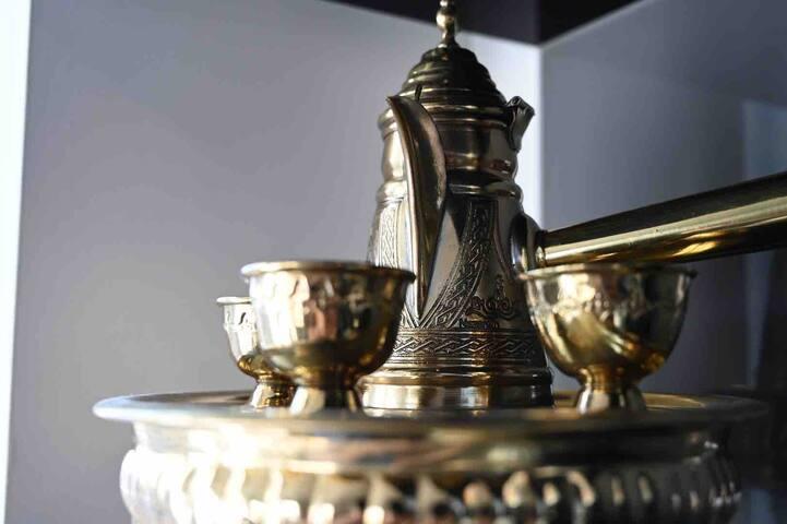 Turkish coffee pot made in Nazareth