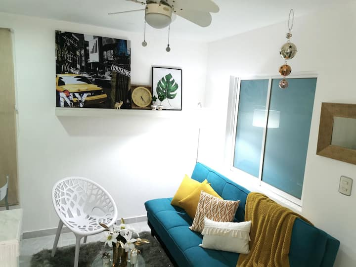 ApartaEstudio Moderno,  Full Equipado
