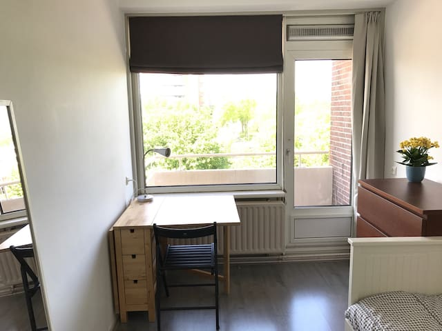 Cozy room, 10 min walking from city centre