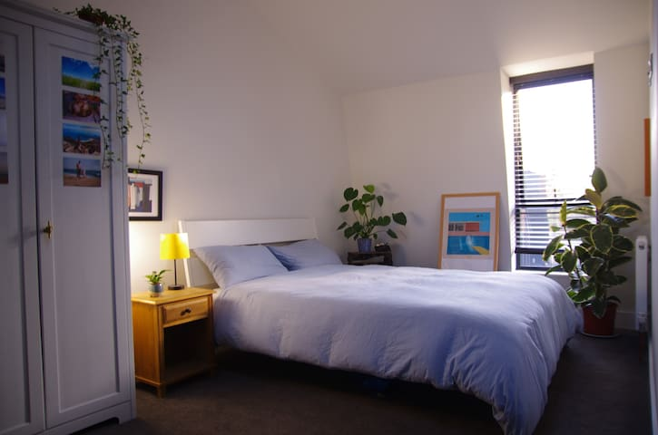 Master bedroom in newly built house