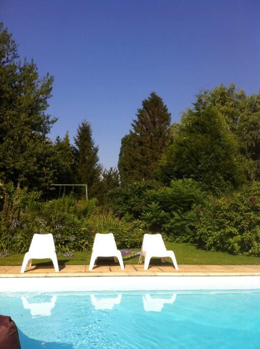 Une parenthese chambre en bord de seine piscine for Piscine 8 mai vitry sur seine