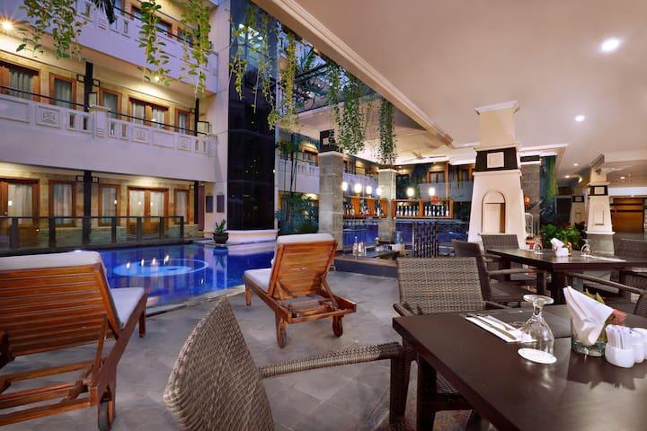 2BR/Hotel/FreeAirportShuttle/Kuta/Bali - Kuta