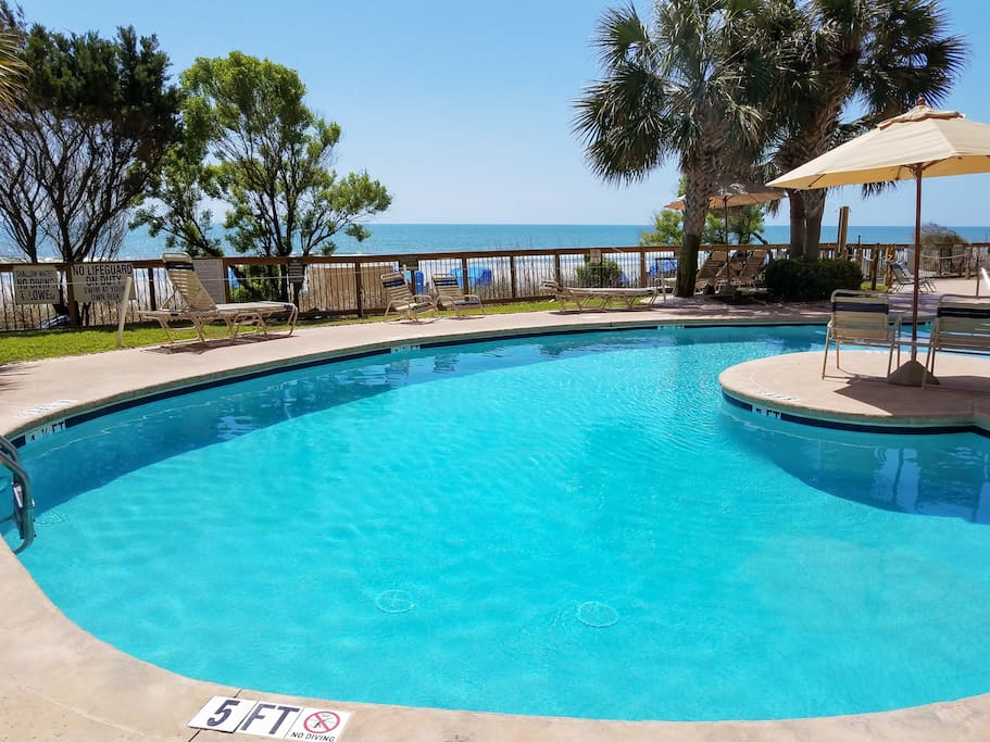 Enjoy access to luxurious amenities, including 2 outdoor pools.