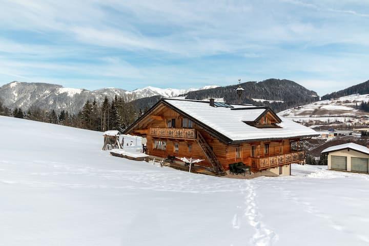 Moderne Villa auf einem Hof in Skigebietnähe in Salzburg