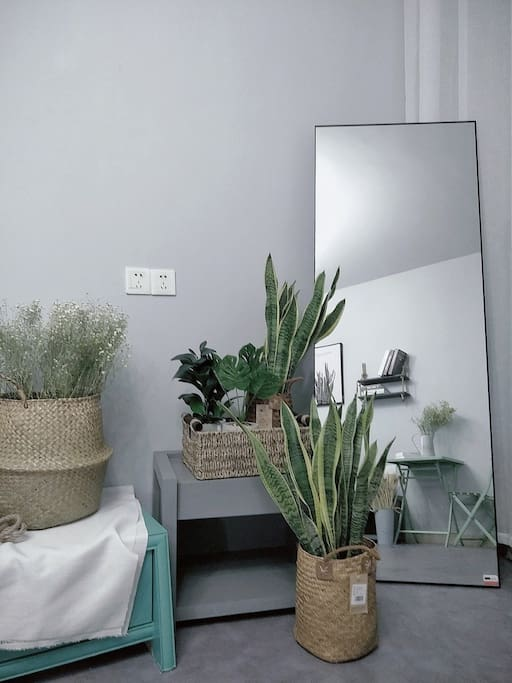 这个镜子 腿很长