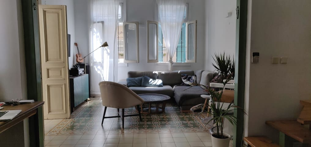 Beautiful and specious Artist Loft In North Jaffa