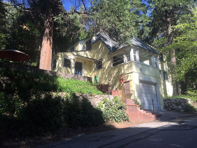 Walking distance to Town Center on a quiet street! - Lake Arrowhead - Huis