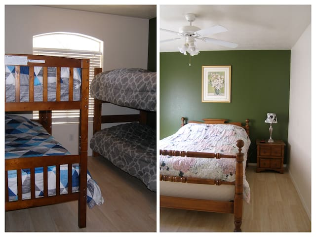 2 Separate Bedrooms - Perfect for Families