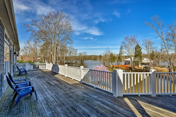 Upscale Lexington Home w/ Dock on High Rock Lake!