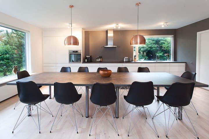 A beautiful, modern home