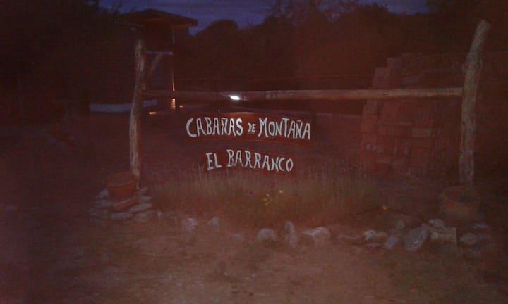 Cabaña de montaña El Barranco 3 azul