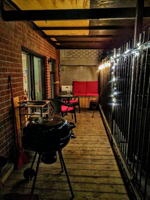 La petite terrasse - The little terrace/balcony