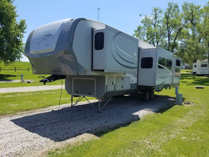 Stanberry Missouri RV and site.