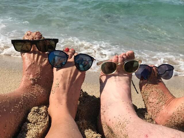On the beach (A.M.A. 00000047000)