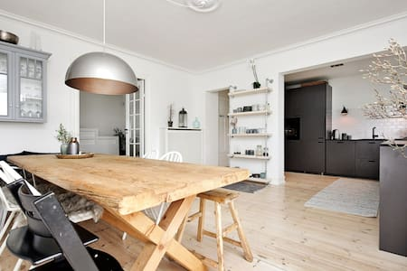 Charming & cosy 5r apartment. Perfect for families - Charlottenlund - Lägenhet
