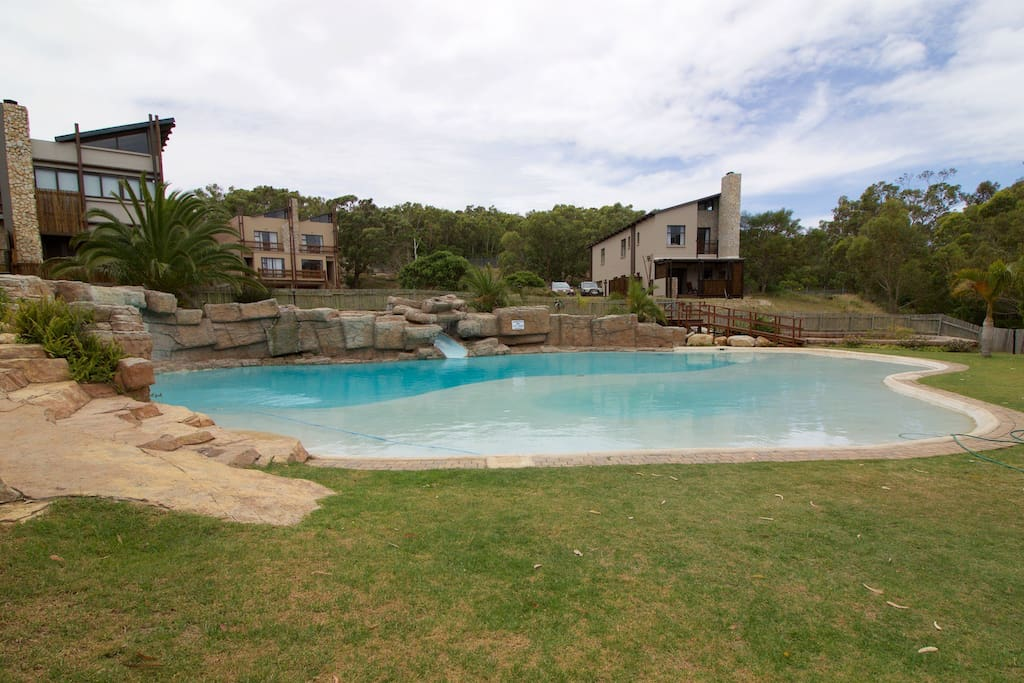 Complex pool and braai