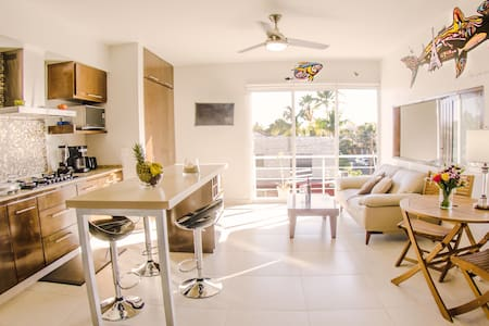 NEW LOVELY FLAT AT 2 BLOCKS OF THE BEACHFRONT